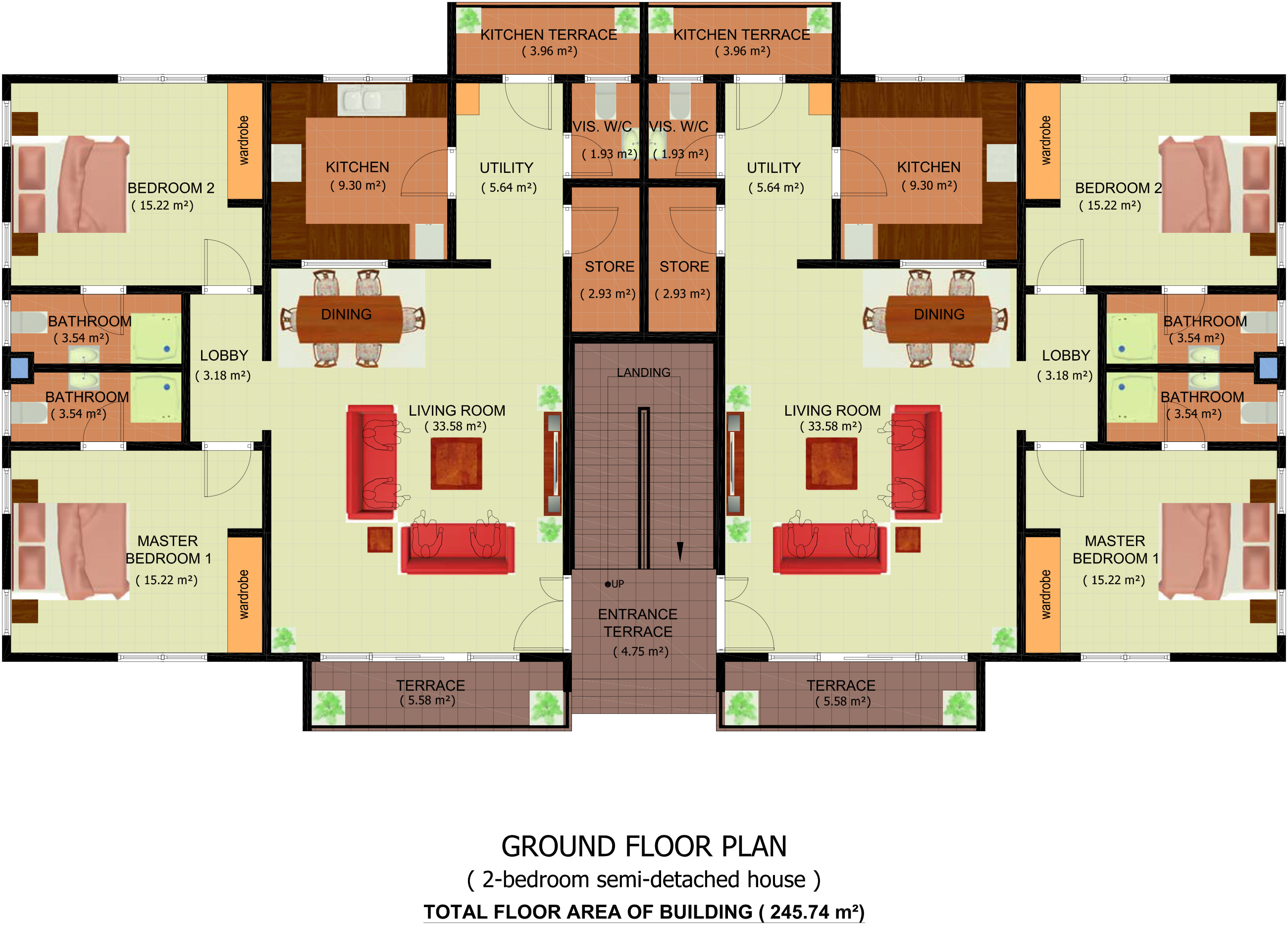 Osagyefo court homes for 2 bedroom apartment floor plans